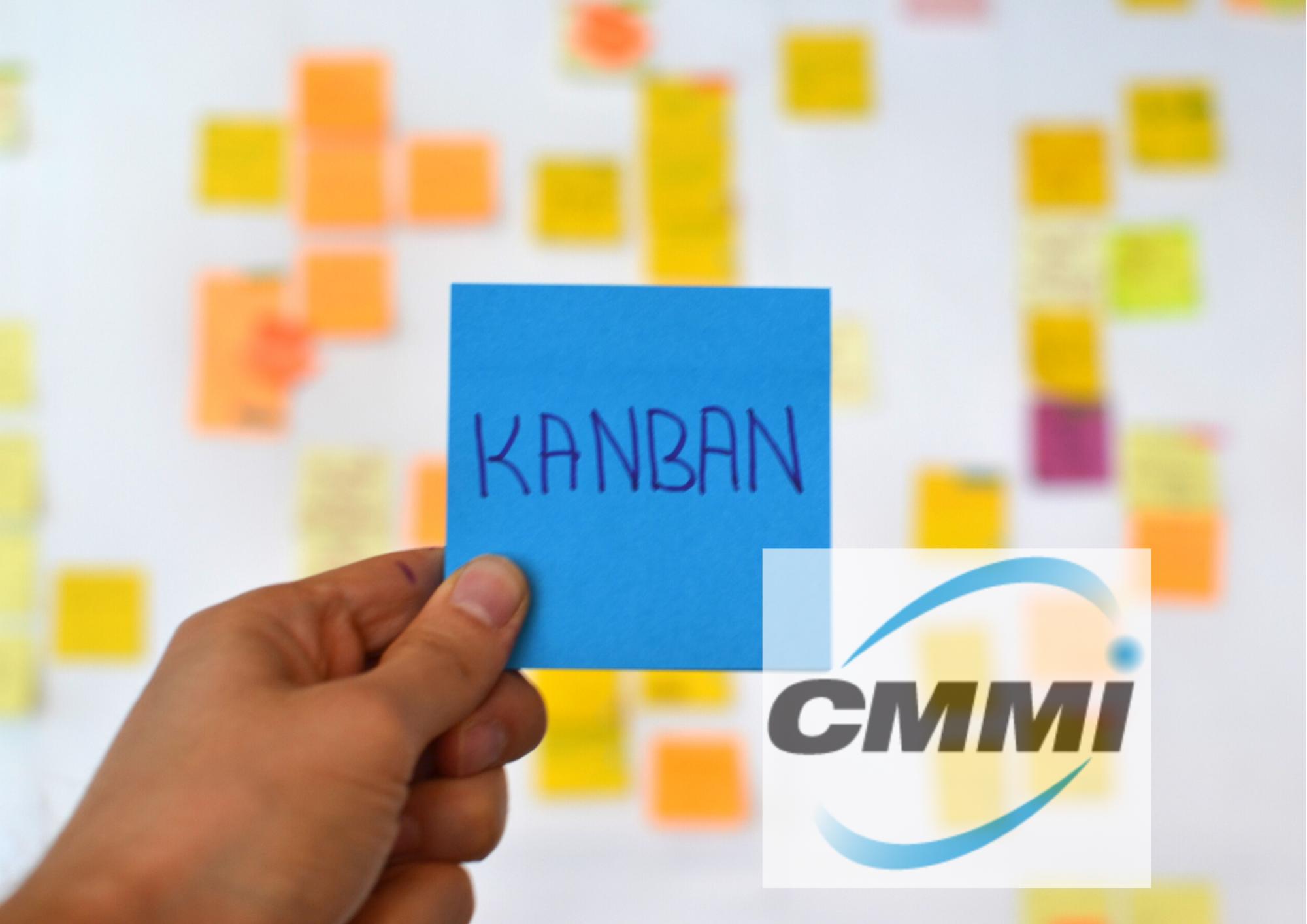 Imagen Kanban y CMMI