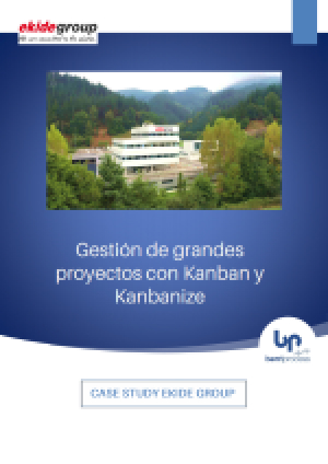 Portada Case Study EKIDE. Gestiónd e grandes proyectos con Kanban y Kanbanize
