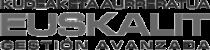 Logo Euskalit. Kudeaketa Aurreratua. Gestión Avanzada.