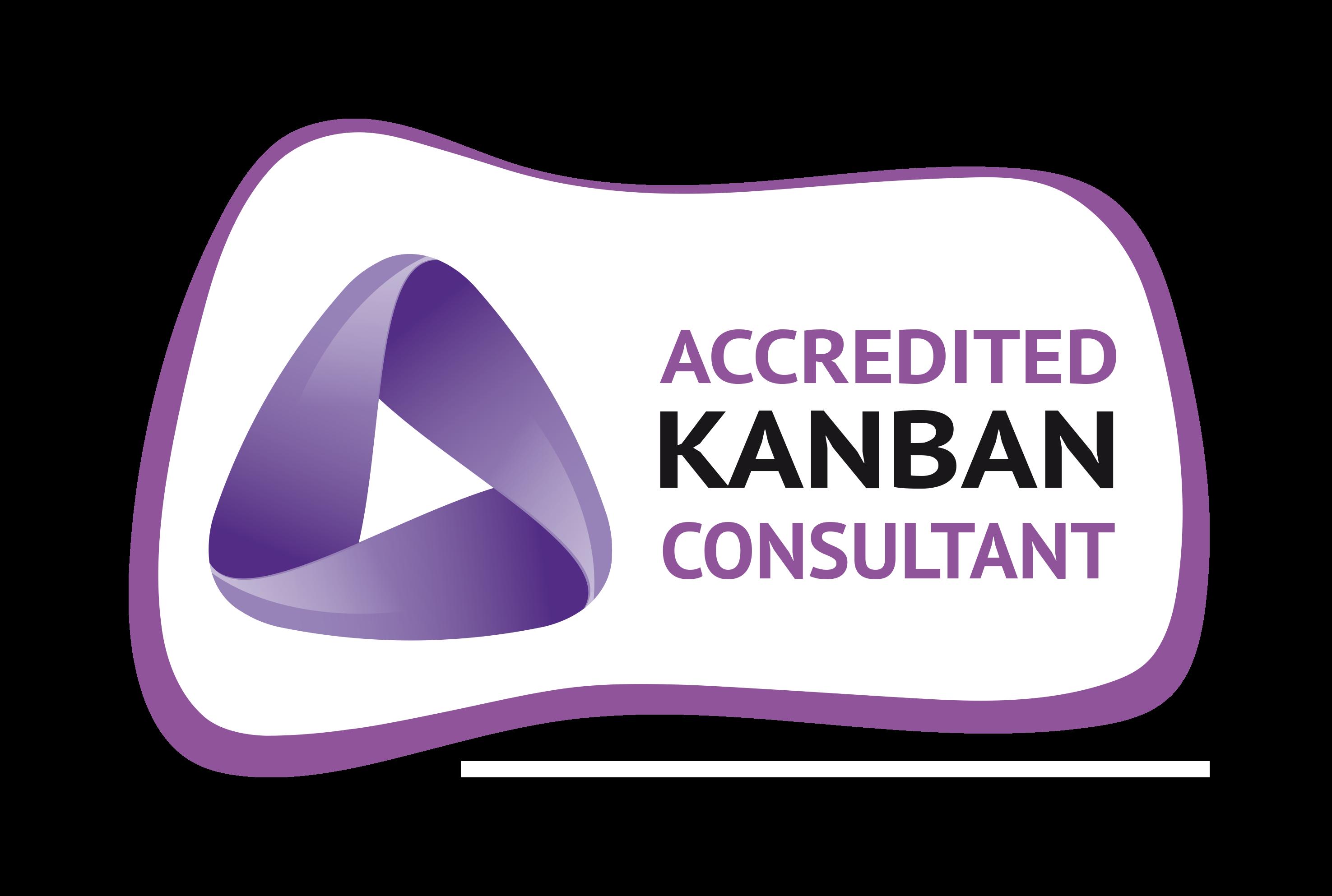 Distintivo Accredited Kanban Consultant