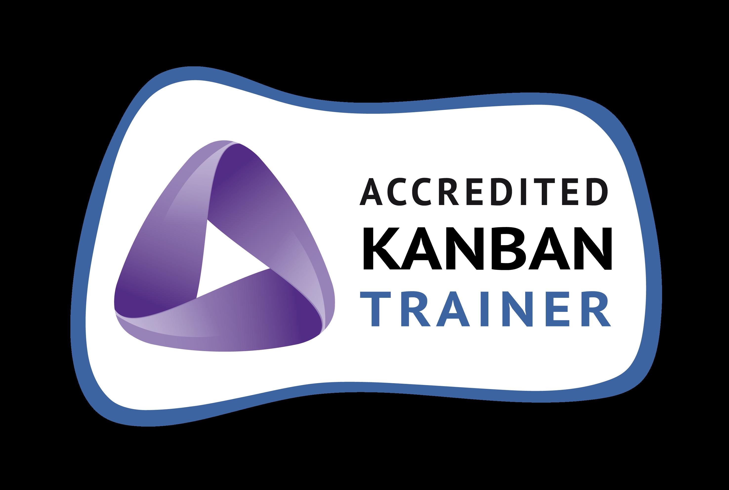 distintivo Accredited Kanban Trainer