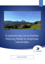 Portada 5 experiencias con el Kanban Maturity Model en empresas industriales. Casos de éxito.