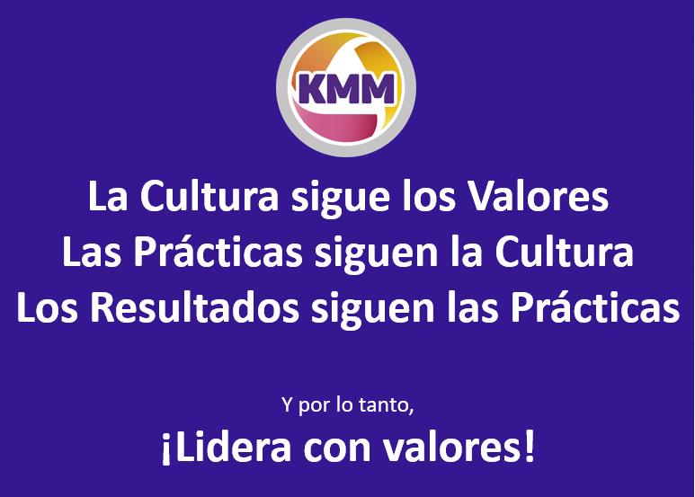 Mantra KMM ¡Lidera con valores!