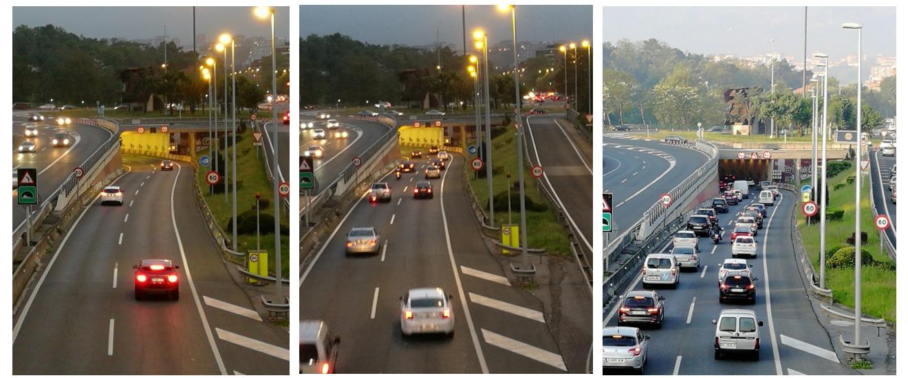 Ejemplo tráfico límites WIP foto